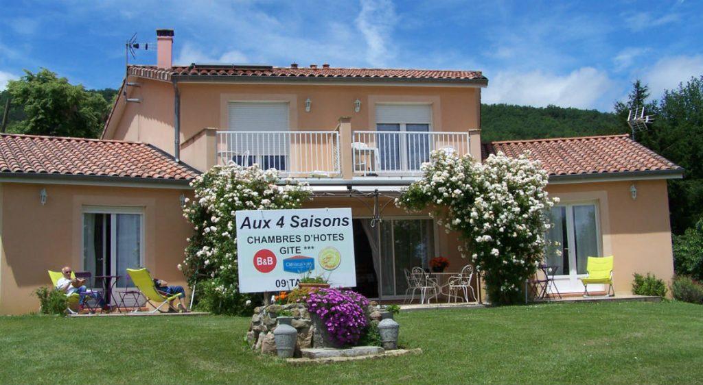 Grand Gîte en Ariège Pyrénées- Eté