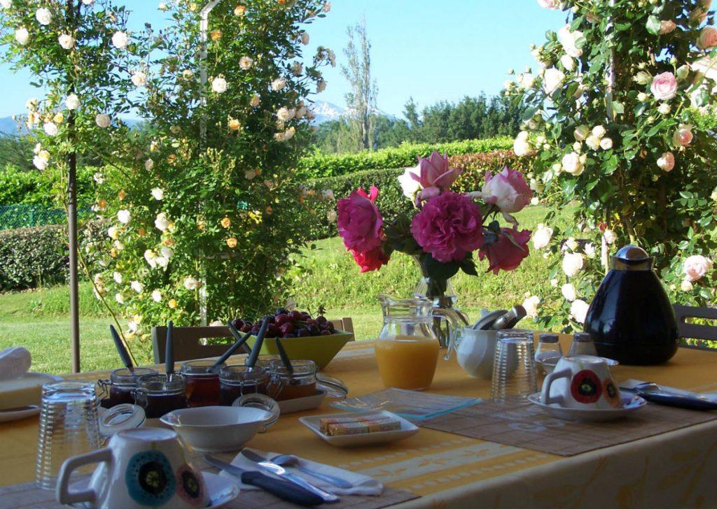 Petit déjeuner des chambres d'hôtes en Ariège Pyrénées