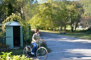 """Promenade à vélo Chambres d'hôtes """"Aux 4 Saisons"""" en Ariège"""
